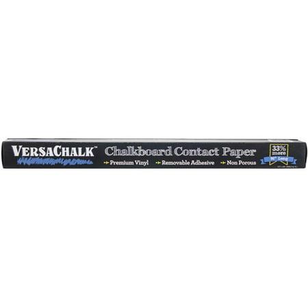 VersaChalk VC105RG 18 x 96 in. VersaChalk Chalkboard Contact Paper with Marker