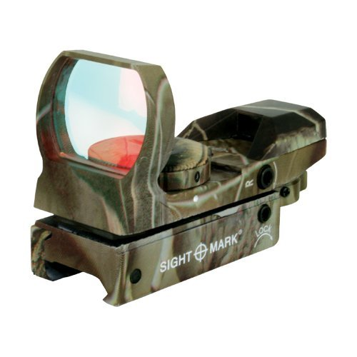 Click here to buy Rifle Reflex Sight, Camo Sightmark Tactical Airsoft Pistol Reflex Sight Mount by Sightmark.