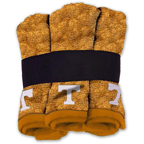 NCAA Tennessee Volunteers Wash Cloth Set, 6pk