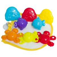 Playgro Splash In The Tub Fun Set Baby Bath Time Toy 8 Piece Set, 6 Months and Up