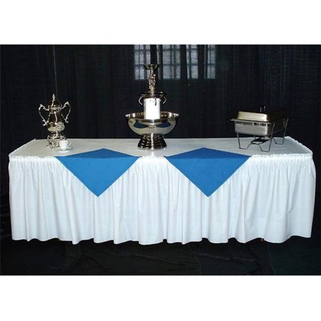 PKG. PATRIOTIC KWIK SKIRT WITH 30 inch X 72 inch WHITE COVER- 10 PER CASE (72 Inch Tree Skirt)