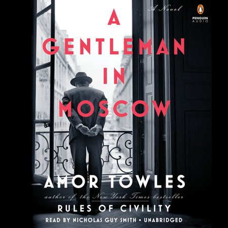 A Gentleman in Moscow - Audiobook **From the New York Times bestselling author of Rules of Civility, a novel about a man who is ordered to spend the rest of his life inside a luxury hotela beautifully transporting novel.The mega-bestseller with more than 2 million readers, soon to be a major television seriesPerhaps the ultimate quarantine read . . . A Gentleman in Moscow is about the importance of community; the distance of a kind act; and resilience. It's a manual for getting through the days to come. O, The Oprah Magazine**In 1922, Count Alexander Rostov is deemed an unrepentant aristocrat by a Bolshevik tribunal, and is sentenced to house arrest in the Metropol, a grand hotel across the street from the Kremlin. Rostov, an indomitable man of erudition and wit, has never worked a day in his life, and must now live in an attic room while some of the most tumultuous decades in Russian history are unfolding outside the hotels doors. Unexpectedly, his reduced circumstances provide him entry into a much larger world of emotional discovery.Brimming with humor, a glittering cast of characters, and one beautifully rendered scene after another, this singular novel casts a spell as it relates the counts endeavor to gain a deeper understanding of what it means to be a man of purpose.