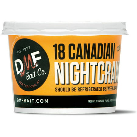 live canadian night crawlers 18 count