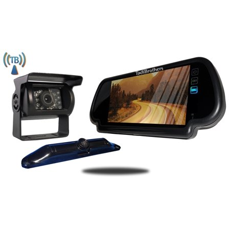 Tadibrothers 5th Wheel Wireless Backup Camera System With A 7 Inch