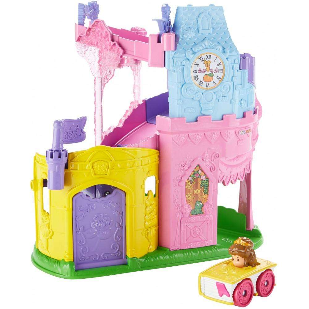 Disney Princess Light & Twist Wheelies Tower By Little People by Little People