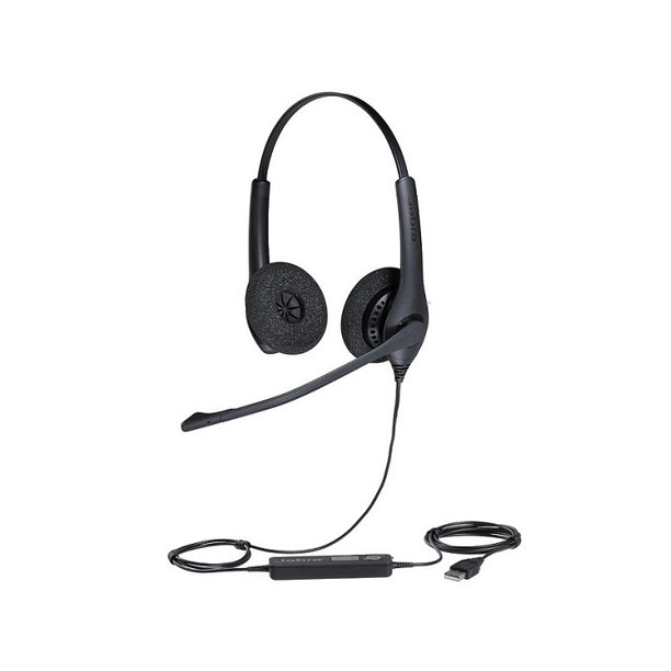 Jabra Biz 1500 Usb Duo Wired Professional Headset Usb 1559 0159 Walmart Com Walmart Com