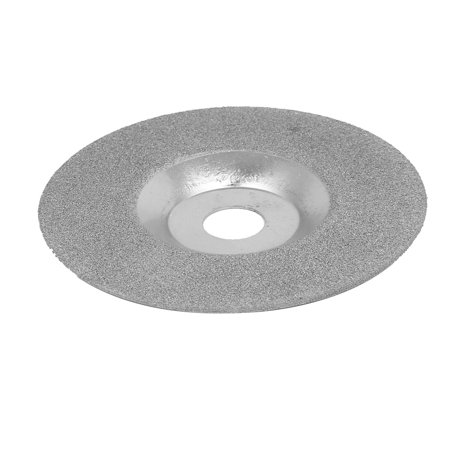 (100mmx16mm Metal Diamond Coated Bowl-Shaped Grinding Cutting Disc Wheel)