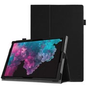 Fintie Case for Microsoft Surface Pro 6 2018 / Surface Pro 2017 (5th Gen) / Pro 4 / Pro 3 12.3-inch Tablet Folio Cover, Black