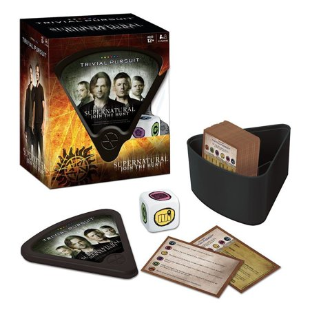 USAopoly Supernatural Trivial Pursuit Board Game (Usaopoly Cat)