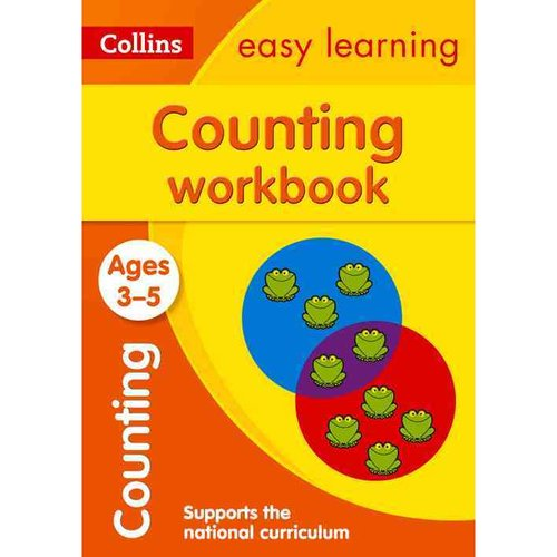 Collins Easy Learning Preschool Counting Workbook Ages 3-5: New Edition by