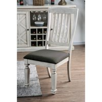 Furniture of America Roslyn Farmhouse Dining Chairs - Set of 2