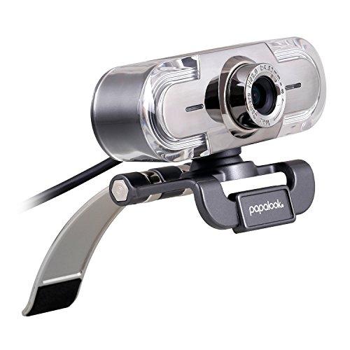 Full HD 1080P Webcam, papalook PA452 PC Computer Camera w...