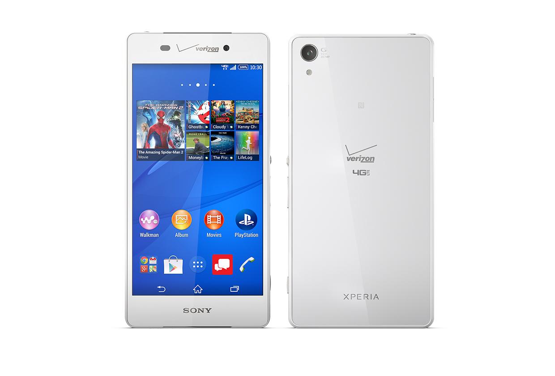 Sony Xperia Z3v 32GB White - Verizon and GSM Unlocked (Refurbished)
