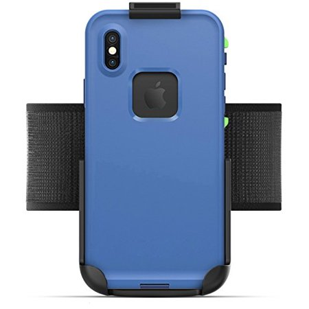 get cheap d55a2 a454f Armband for Lifeproof Fre Case iPhone X - Encased (Non Slip) Fully  Adjustable Lightweight Gym Sports Band, Fits all arm