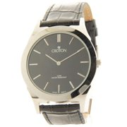 CN307464SSBK Mens Black Leather Slim Casual Watch