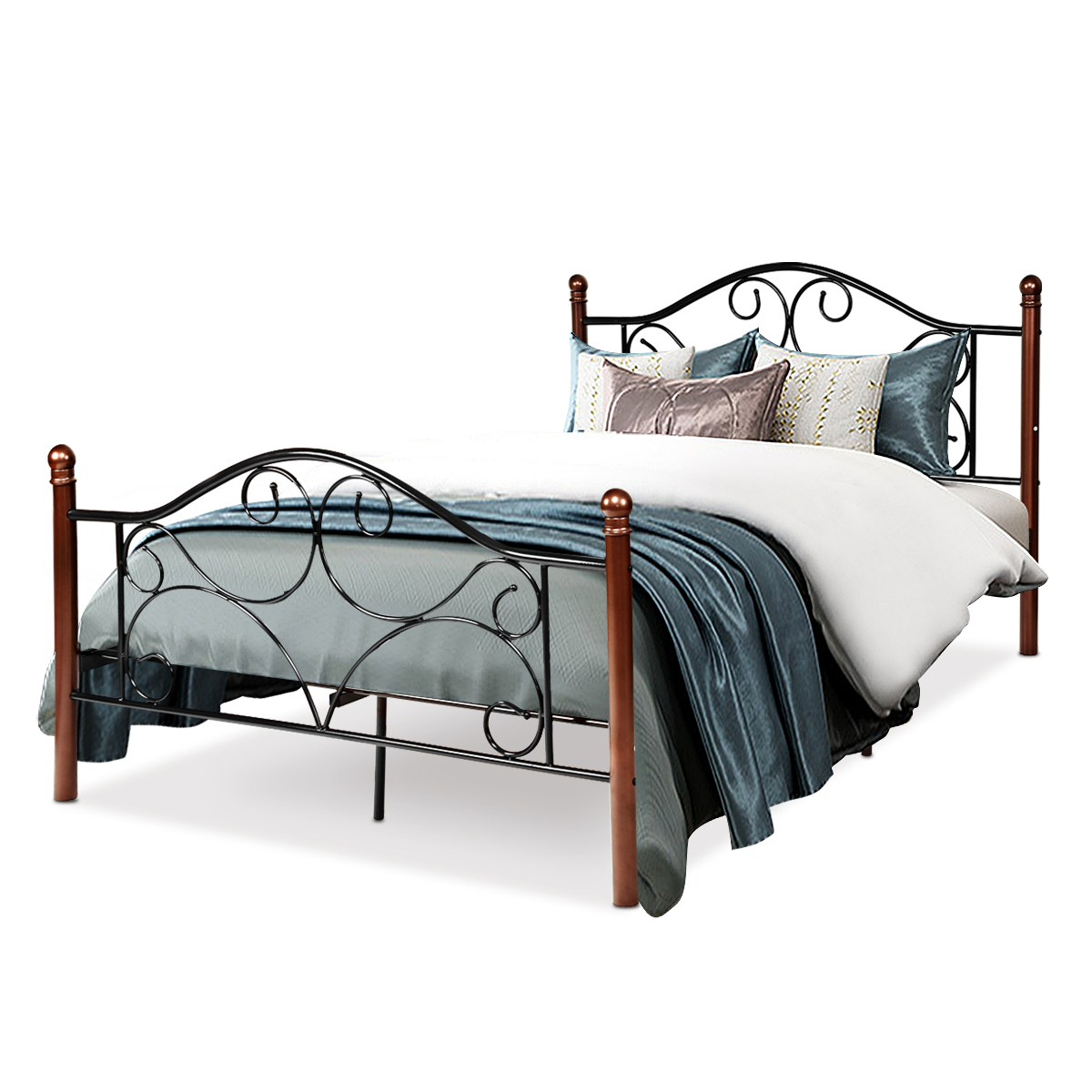 Costway Full Size Steel Bed Frame
