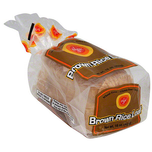 Ener-G Brown Rice Bread, 16 oz (Pack of 6)