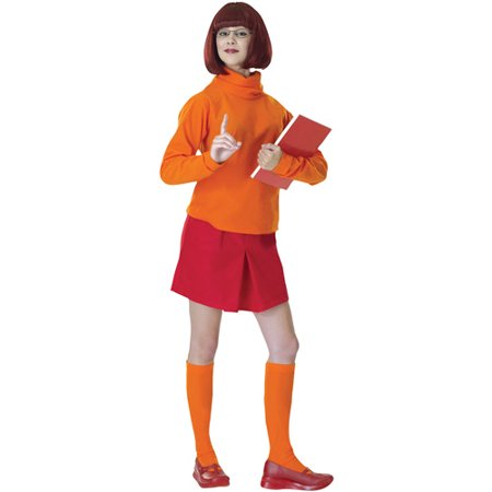 Velma Adult Halloween Costume, Size: Up to 12 - One Size - One Direction On Halloween