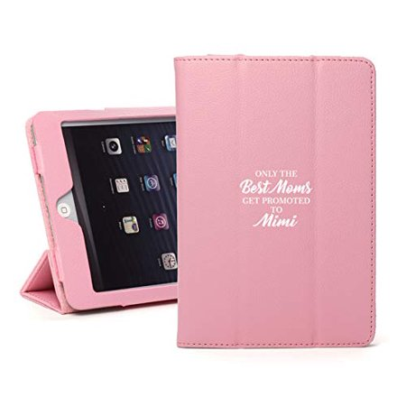 Leather Magnetic Smart Case Cover Stand for Apple iPad The Best Moms Get Promoted to Mimi (for iPad 6 6th 9.7