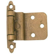 Ultra Antique Brass Self Closing Hinge  34905