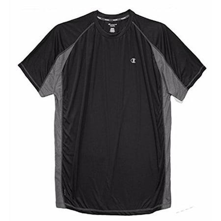 - Champion Big & Tall Men's Vapor Performance T-Shirt Pieced (2XL, Black)