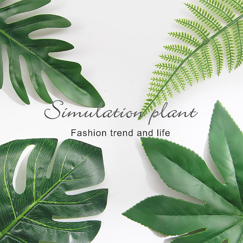 Directer 1Pc Nordic Pine Branch Coconut Palm Leaf Artificial Plant Blogger Photo Prop