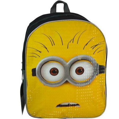 3 Plain Front 15 Backpack, 100% polyester. By Despicable Me for $<!---->