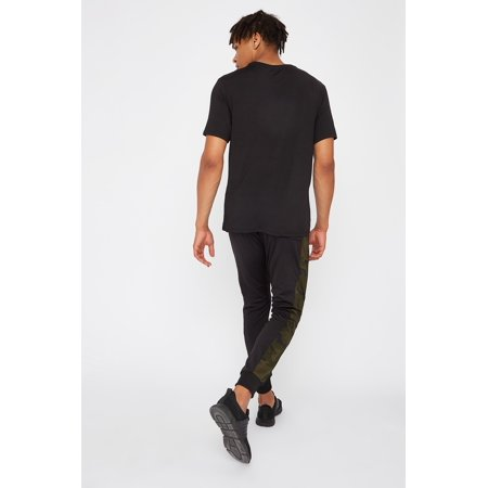 Urban Planet Men's Active Camo Side Stripe Jogger - image 2 of 3