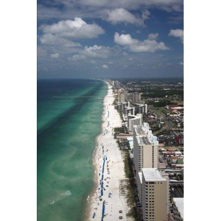 Aerial View Of Panama City Beach Florida Journal 150 Page Lined Notebook Diary