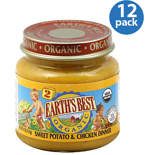 Earth's Best Organic Sweet Potato & Chic
