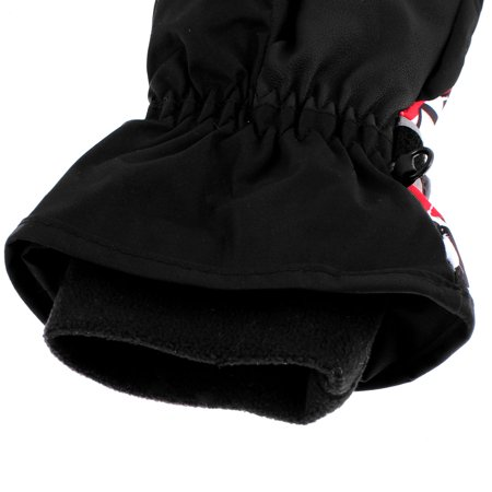 Adults Winter Sports Outdoors Skiing Snowboard Ski Gloves Black L Pair - image 3 of 4