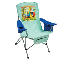 Margaritaville Suspension Chair - Just Another Day In Paradise - Green/Blue