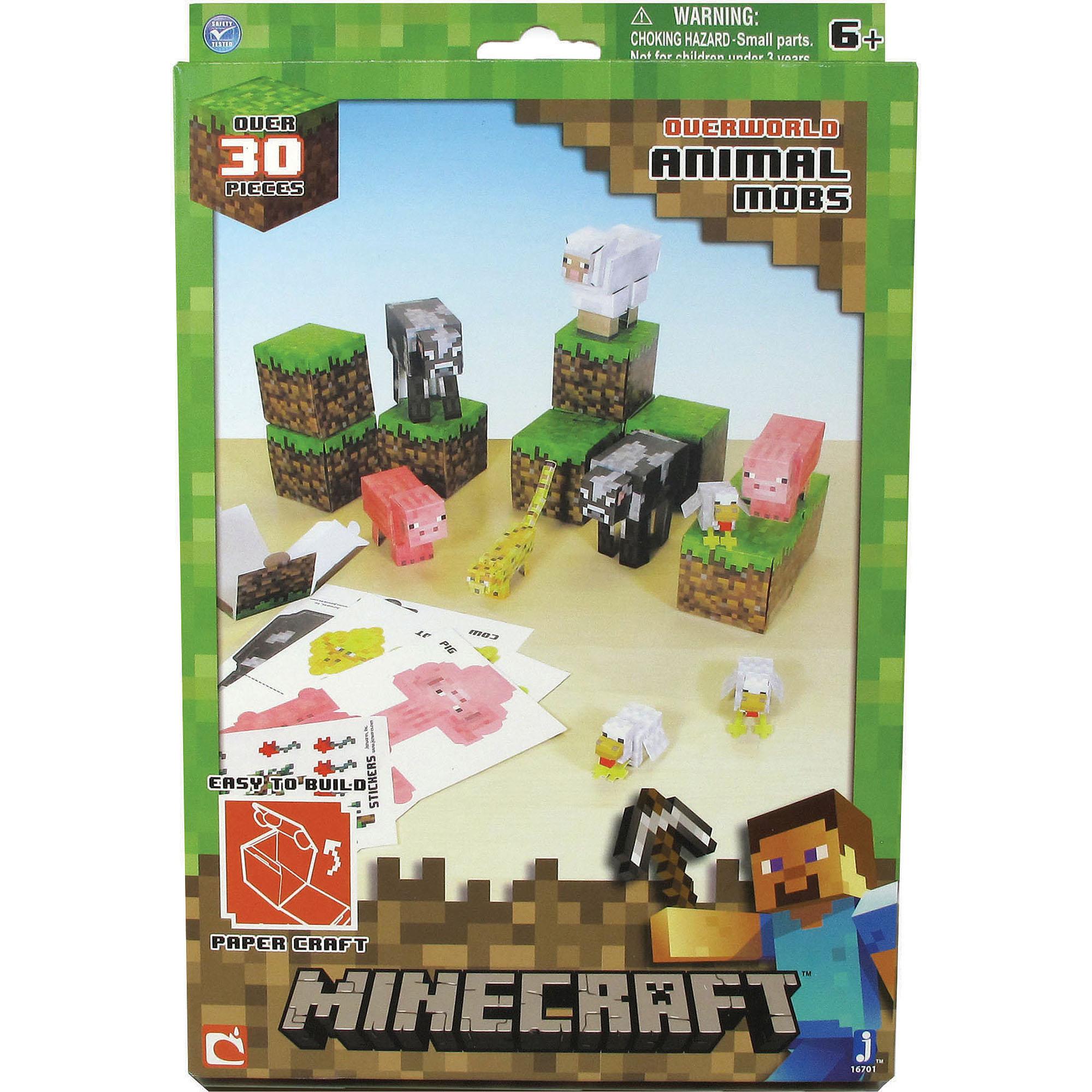 Minecraft Papercraft Animal Mob