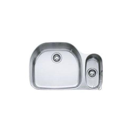 "Franke Prestige 22 1/4"" x 19 7/8"" x 9 1/16"" 18 Gauge Undermount Single Bowl Stainless Steel Kitchen Sink"