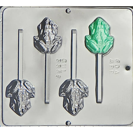 3369 Frog Lollipop Chocolate Candy Mold ()