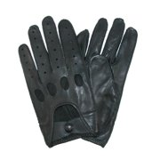 Size Xlarge Mens Classic Leather Unlined Driving Gloves, Brown