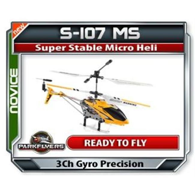 Park Flyers 87667 S107 Metal Series RC Helicopter