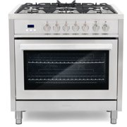 Best Double Oven Gas Ranges - Cosmo COS-F965 36 in. Stainless Steel Dual Fuel Review