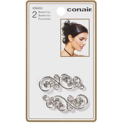 Conair Swirly Jean Wire Barrette - 1-3/4 Inch