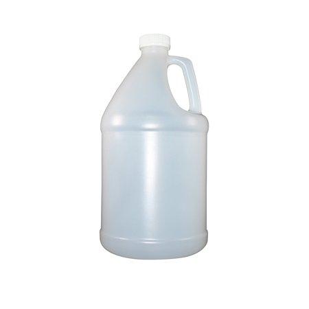 Ecoxall - Empty HDPE Bottle Plastic Jug with Childproof Cap - 1 Gallon (128 Ounces) (1 Gallon Plastic Bottles)