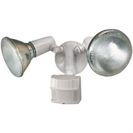 Heath Zenith HZ-5411-WH Heavy Duty Motion Sensor Security Light (White)