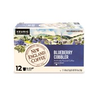 New England Coffee Blueberry Cobbler Coffee K-cup Pods, 12 Count