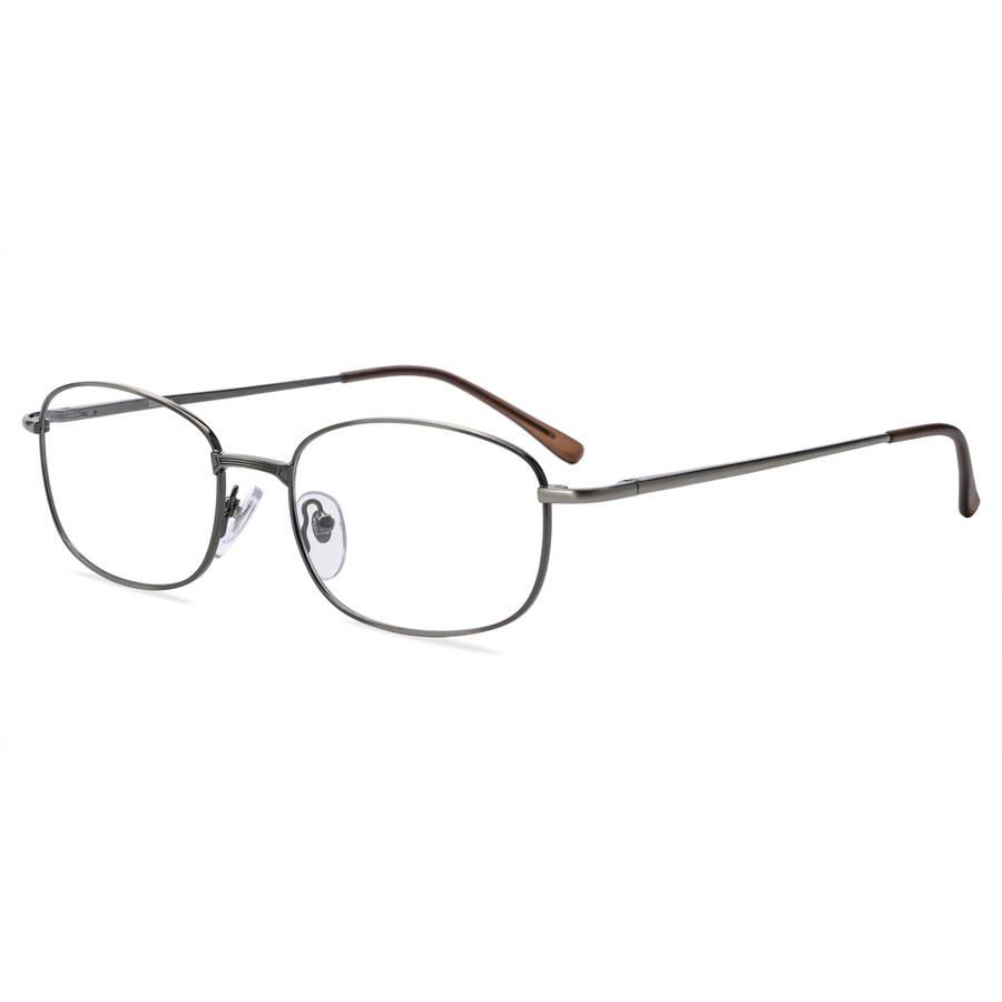 Contour Mens Prescription Glasses, FM12001 Dark Silver