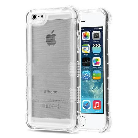 MyBat Gel Case For Apple iPhone 5/5S/SE - Clear
