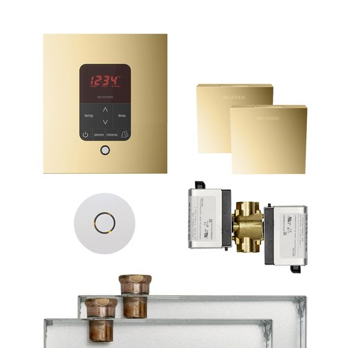 Butler Package 2 Square Polished Brass