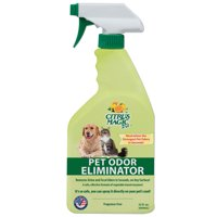 Citrus Magic Pet Odor Eliminator, Pack of 3, 22-Ounce Each