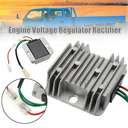 12V DC Voltage Regulator generatorvoltageregulator Generator AVR For Kipor Kama KDE3500 KDE5000 KDE6500 KDE6700 KDE6800S