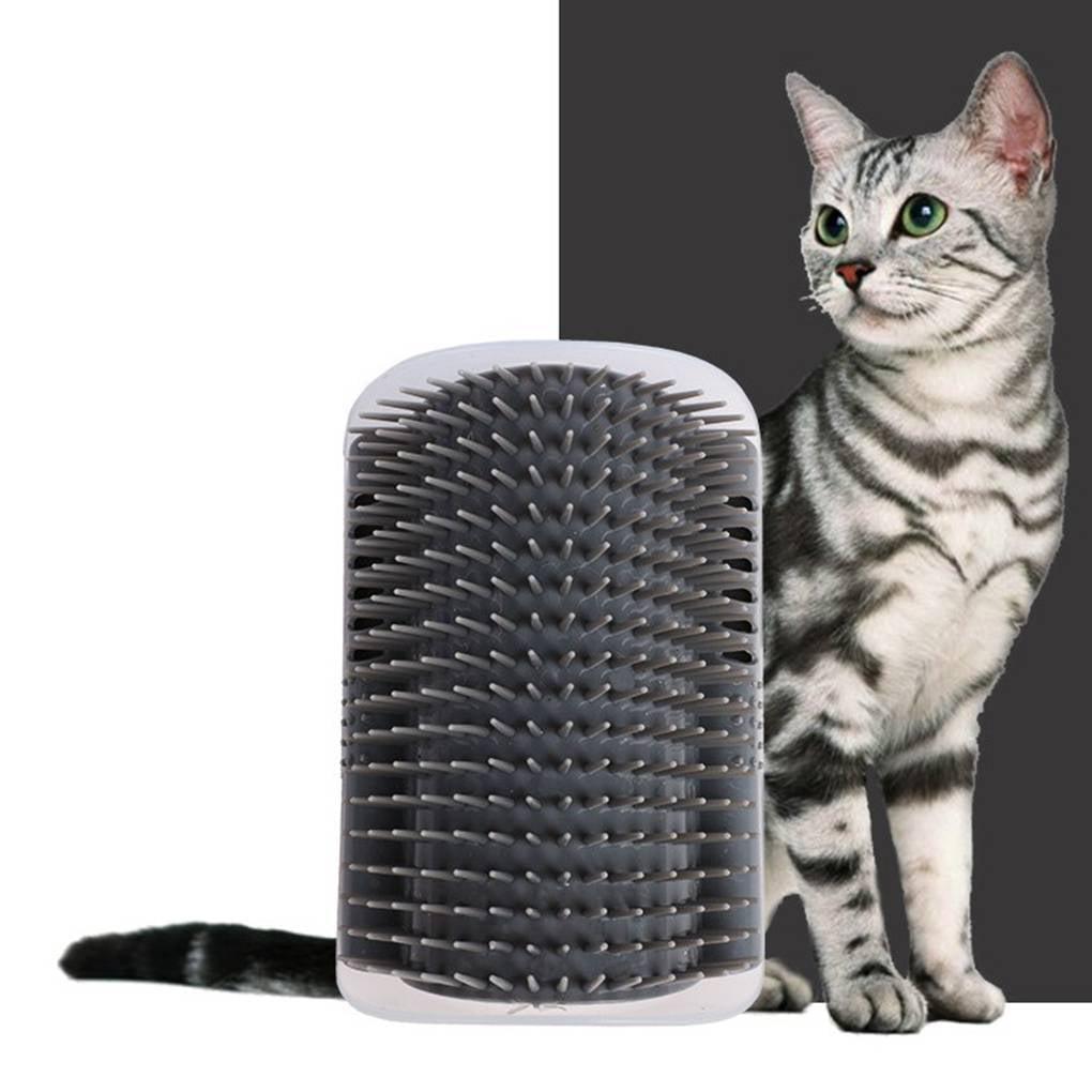 Self Grooming and Massaging Corner Brush Cat Toy
