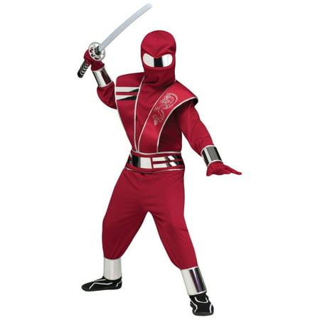 Mirror Mask Futuristic Ninja Boys - Futuristic Costumes