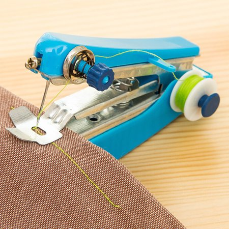 Portable Needlework Cordless Mini Hand-Held Clothes Fabrics Sewing